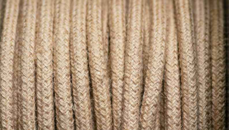 Braided Flex Natural Jute