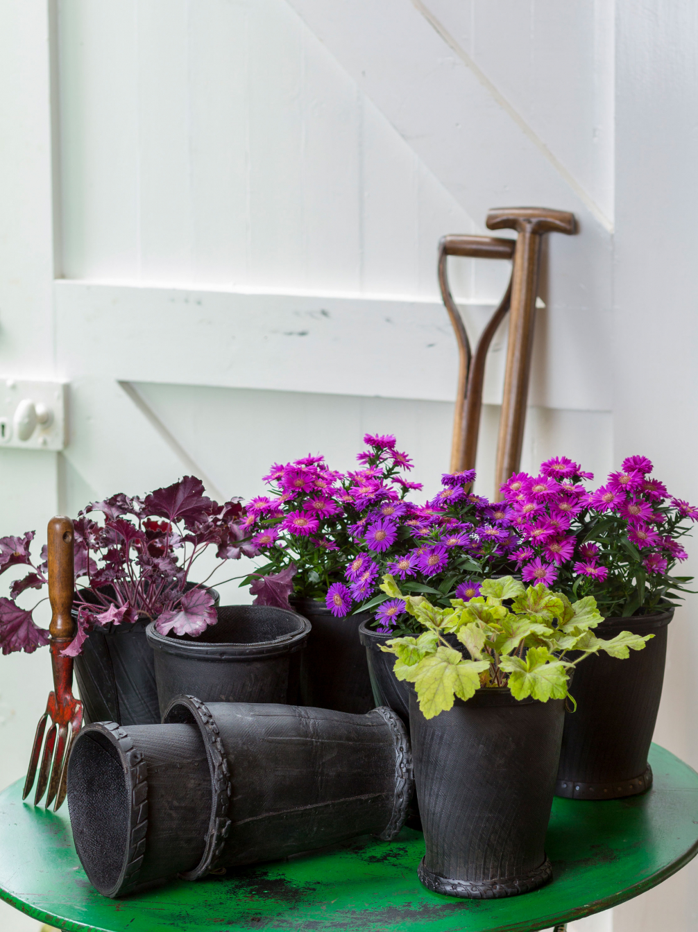 REcycled Rubber Tyre Buckets