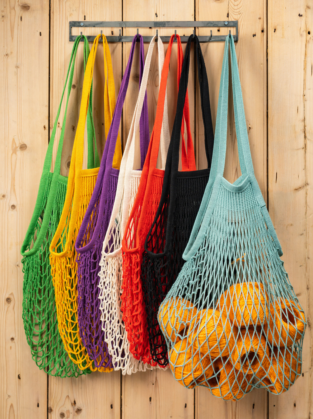 Coloured String Bags