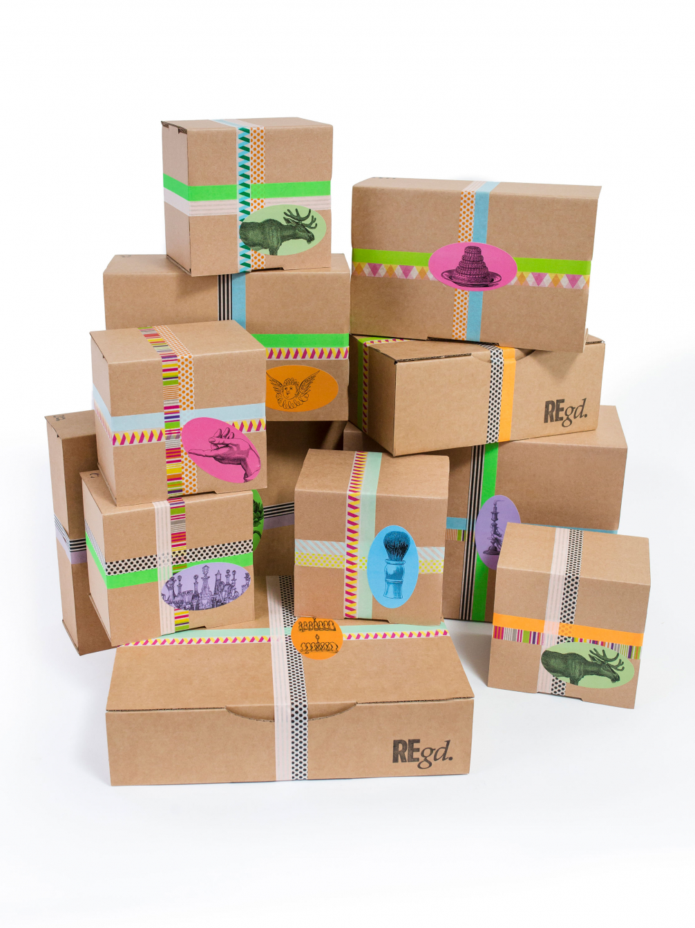 RE Candle Wing Gift Box