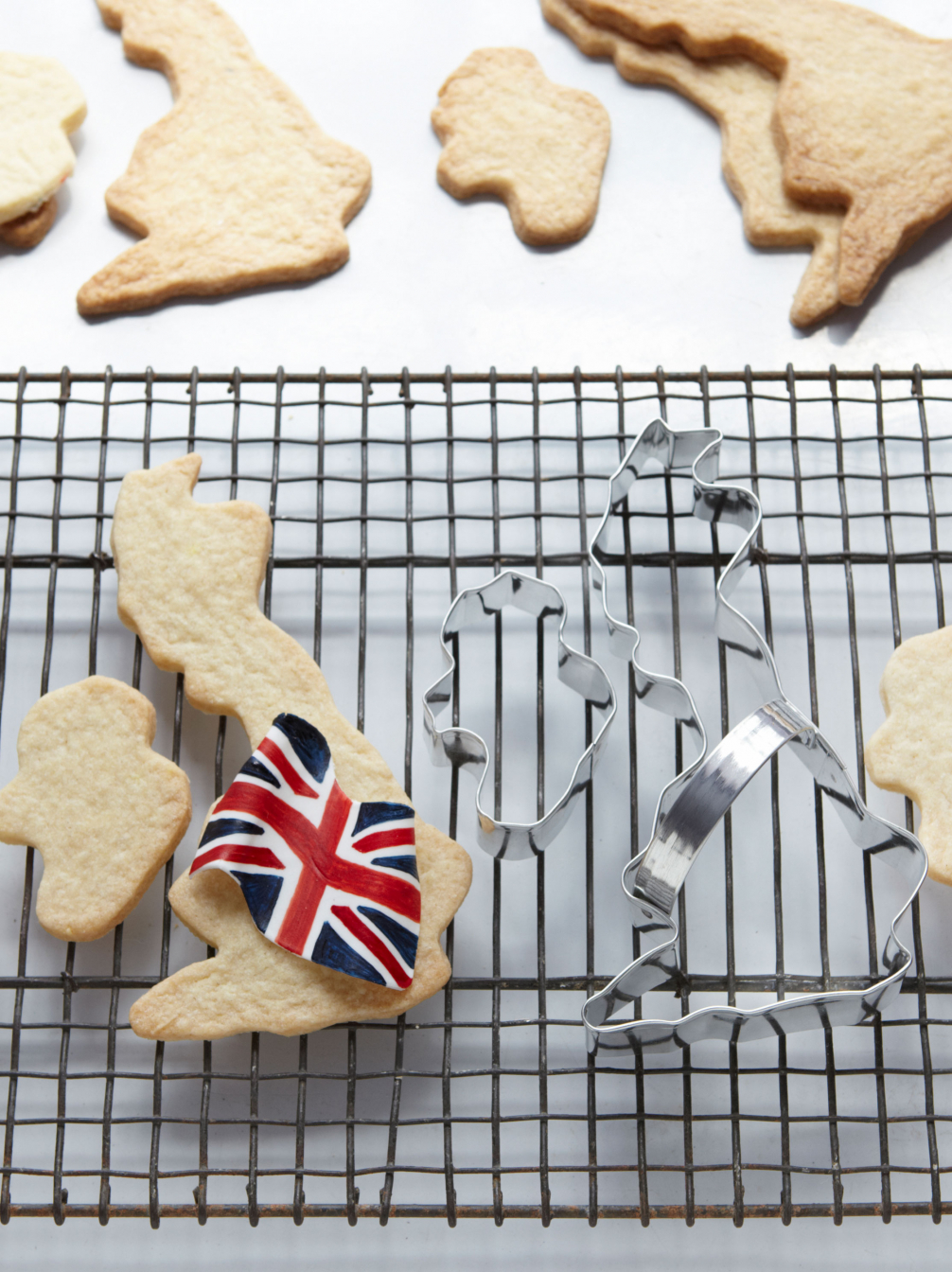 British Isles Biscuit Cutters