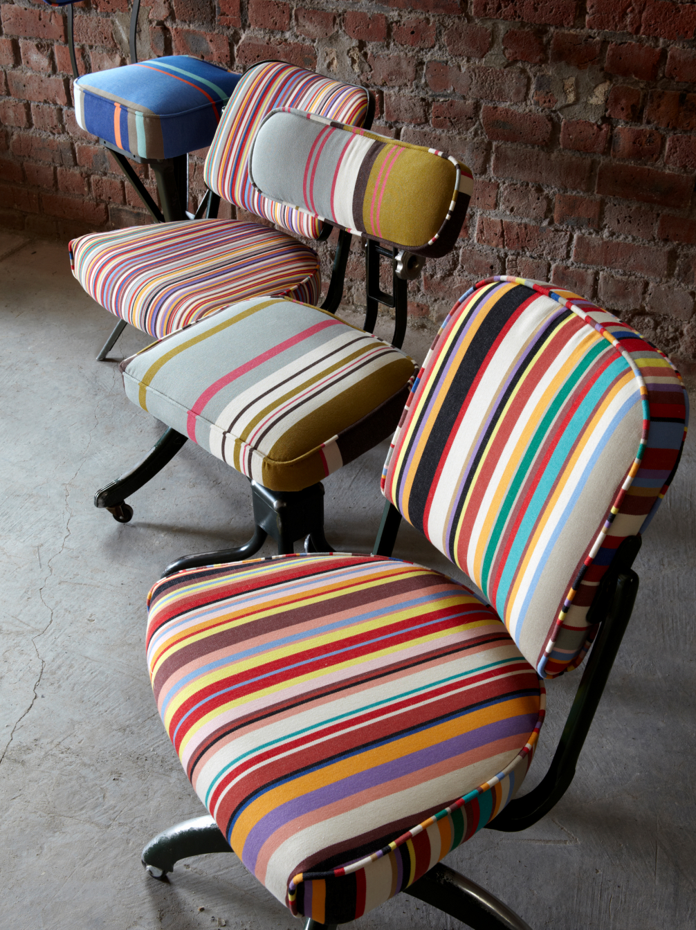 French Stripe Wide Fabric
