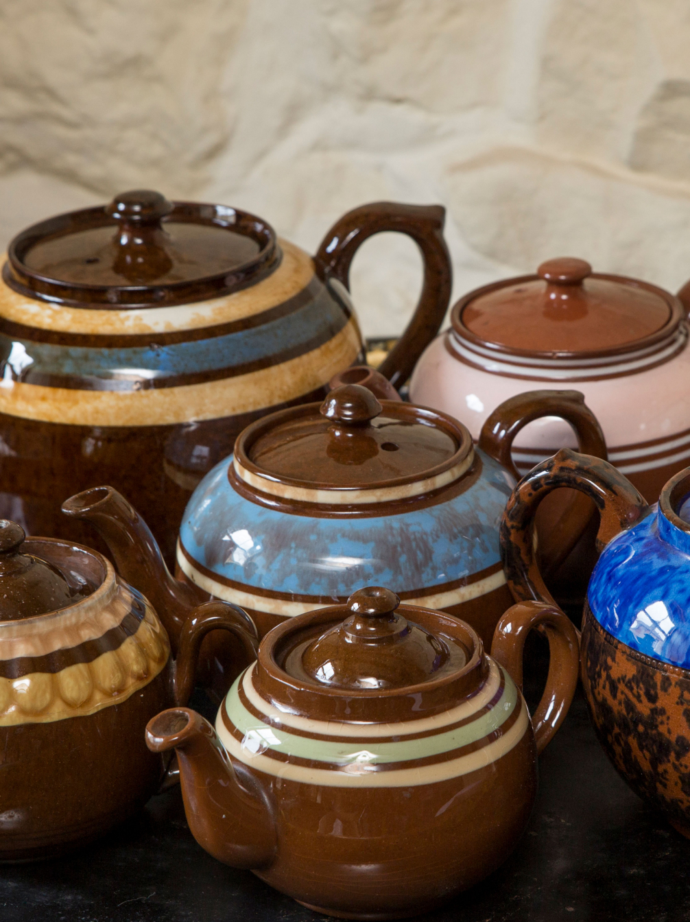 Old Brown Betty Teapots