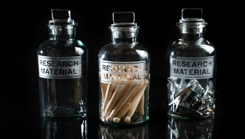 Research Material Jar