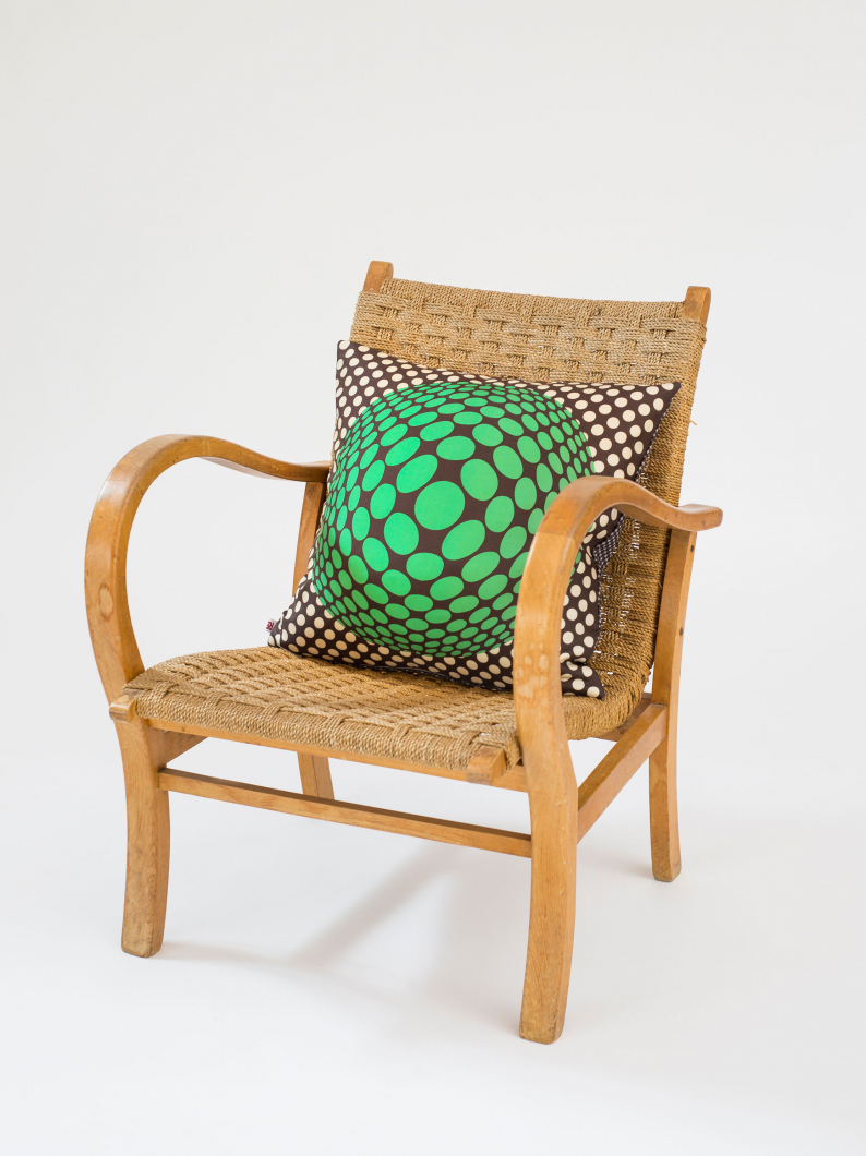 Optic Spot Cushion
