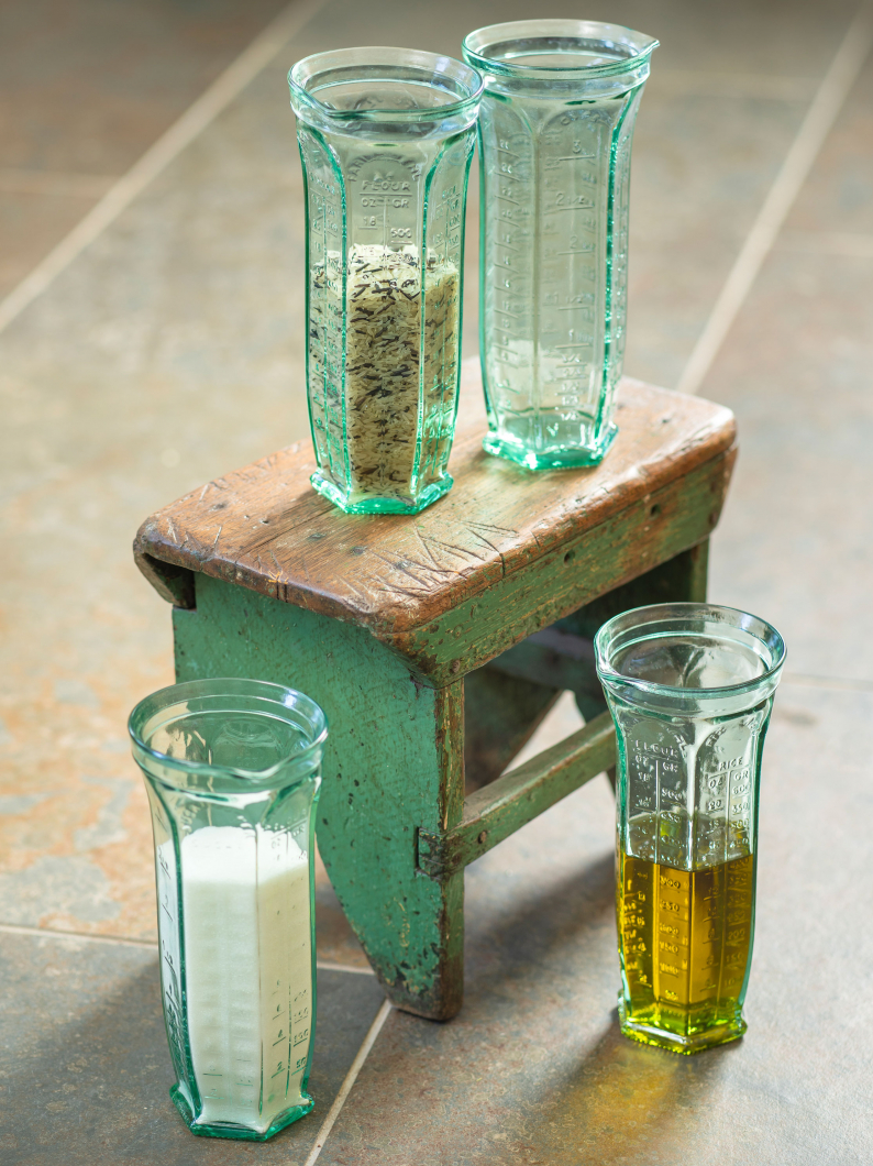 Tall Glass Measuring Jug