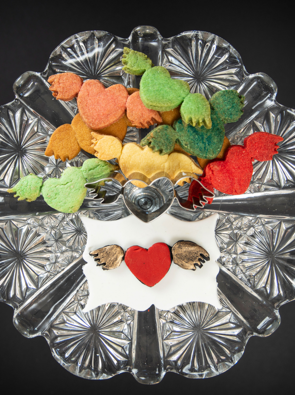 Winged Heart Biscuit Cutter