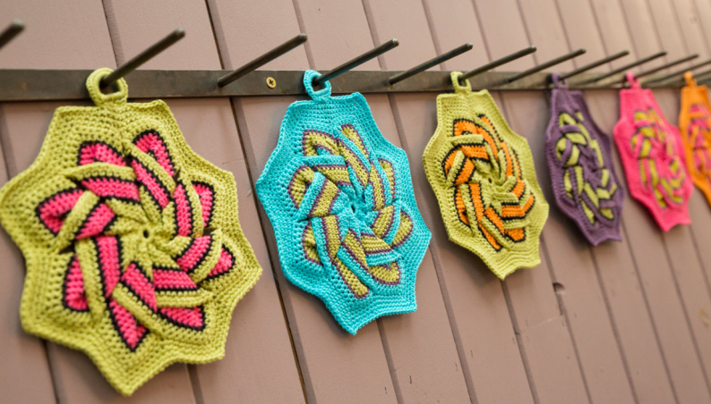 Hand Crocheted Pot Holder