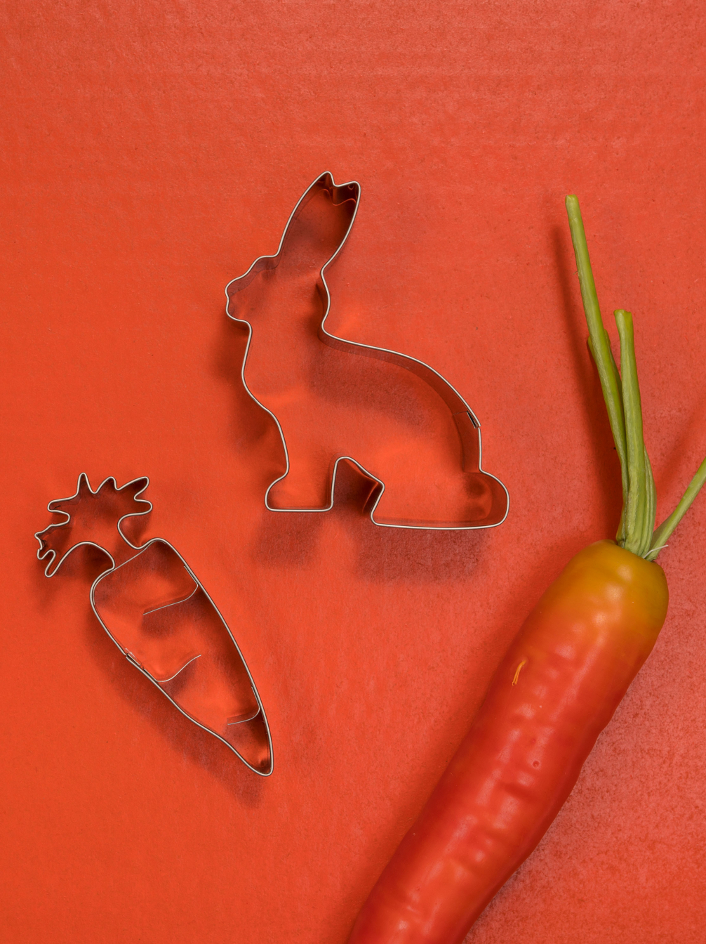 Rabbit & Carrot Biscuit Cutters