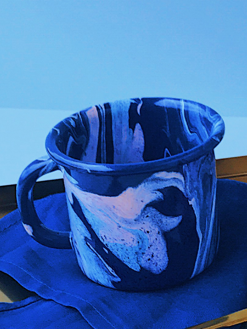 Marbled Enamel Mugs