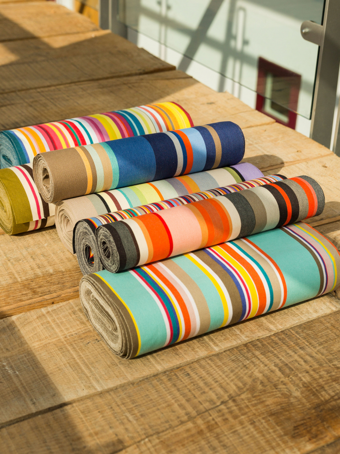 French Stripe Canvas