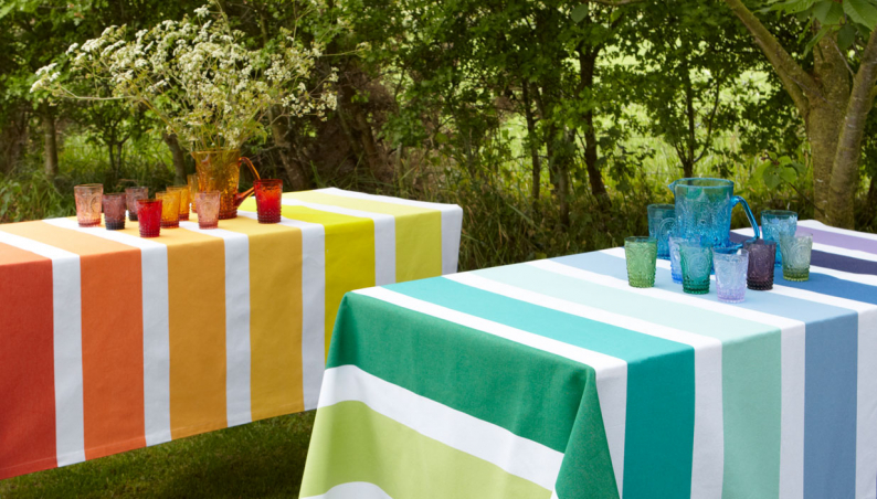 French Stripe Tablecloths