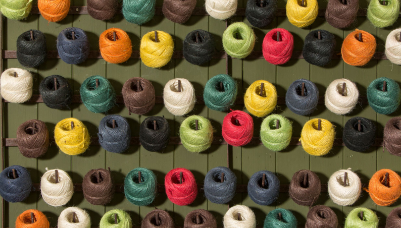 Coloured Jute Twine
