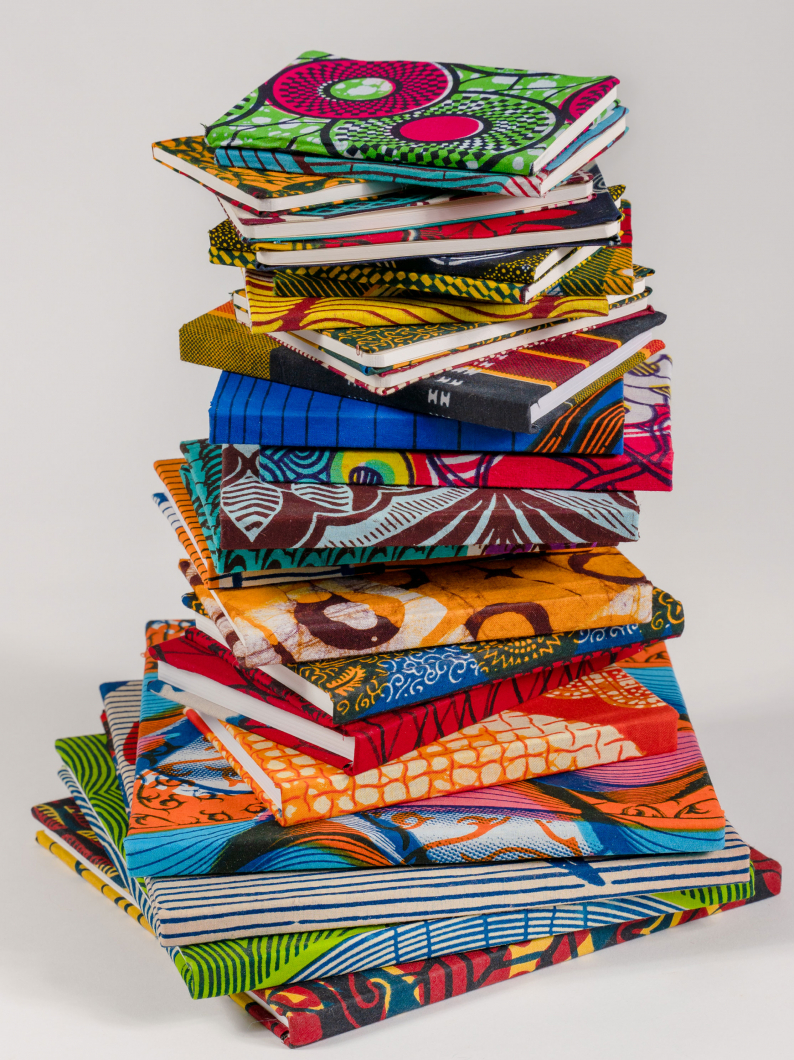African Fabric Notebooks