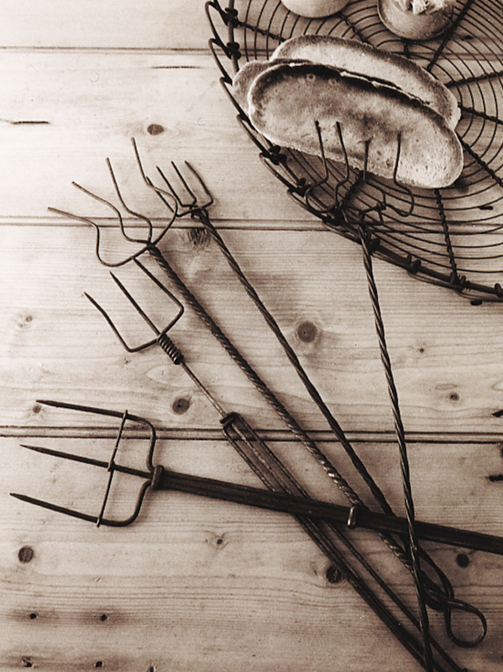 Old Wire Toasting Forks