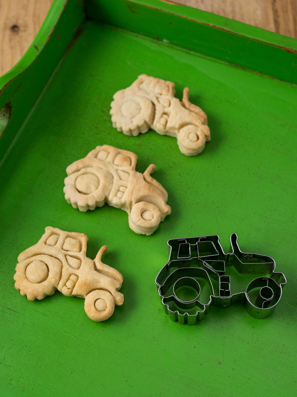 Tractor Biscuit Cutter